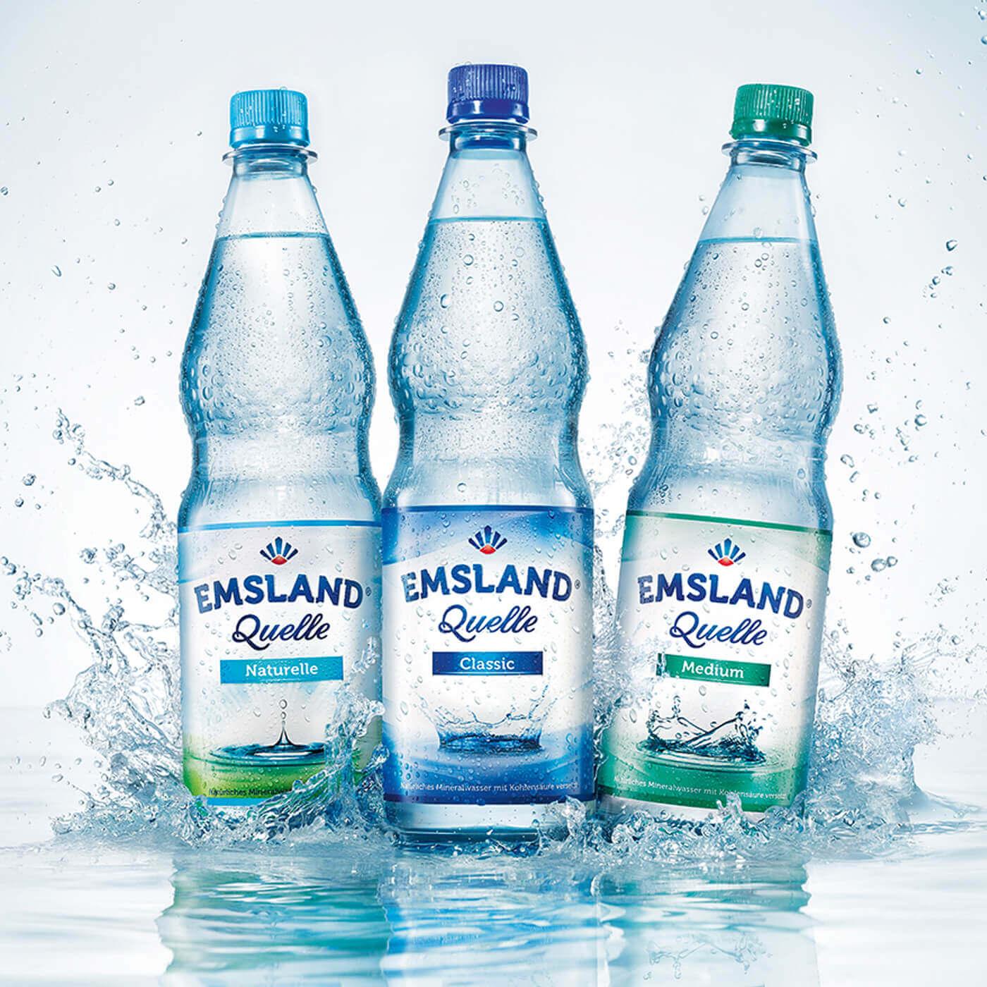 cyclos Vivaris Wasserflaschen Emsland