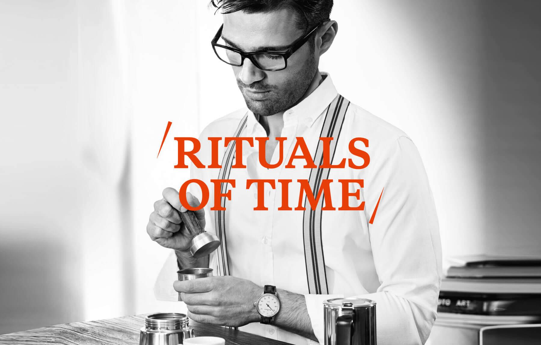cyclos meistersinger Rituals Of Time Image Kampagne marketingkonzept marketing kreativagentur münster