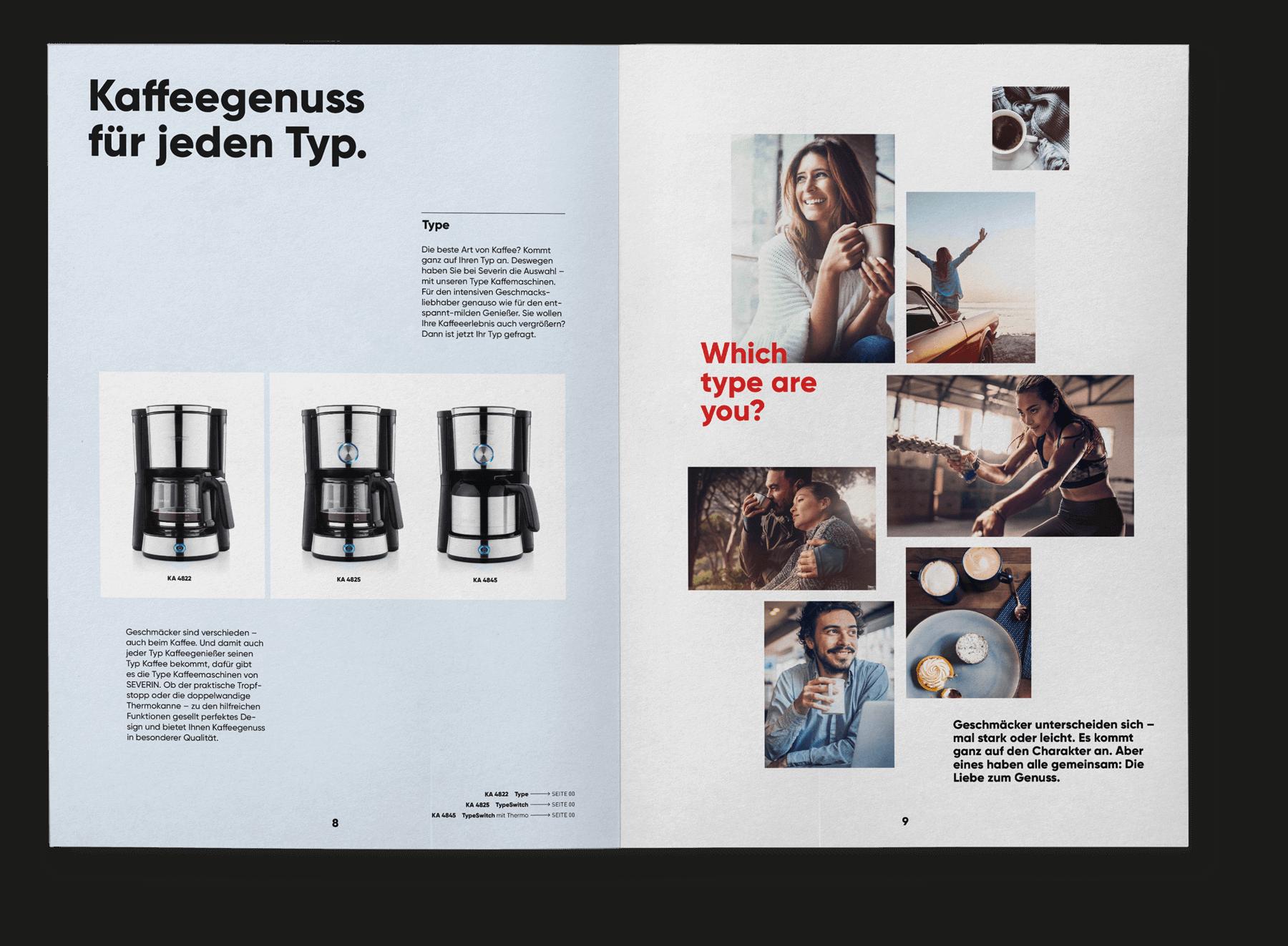 cyclos Severin Katalog markenrelaunch werbeagentur