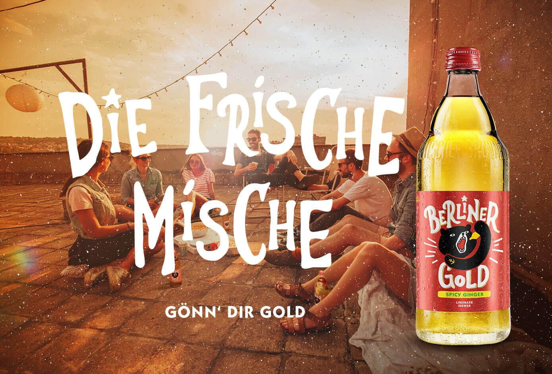 cyclos Berliner Gold Kampagne Packaging Design