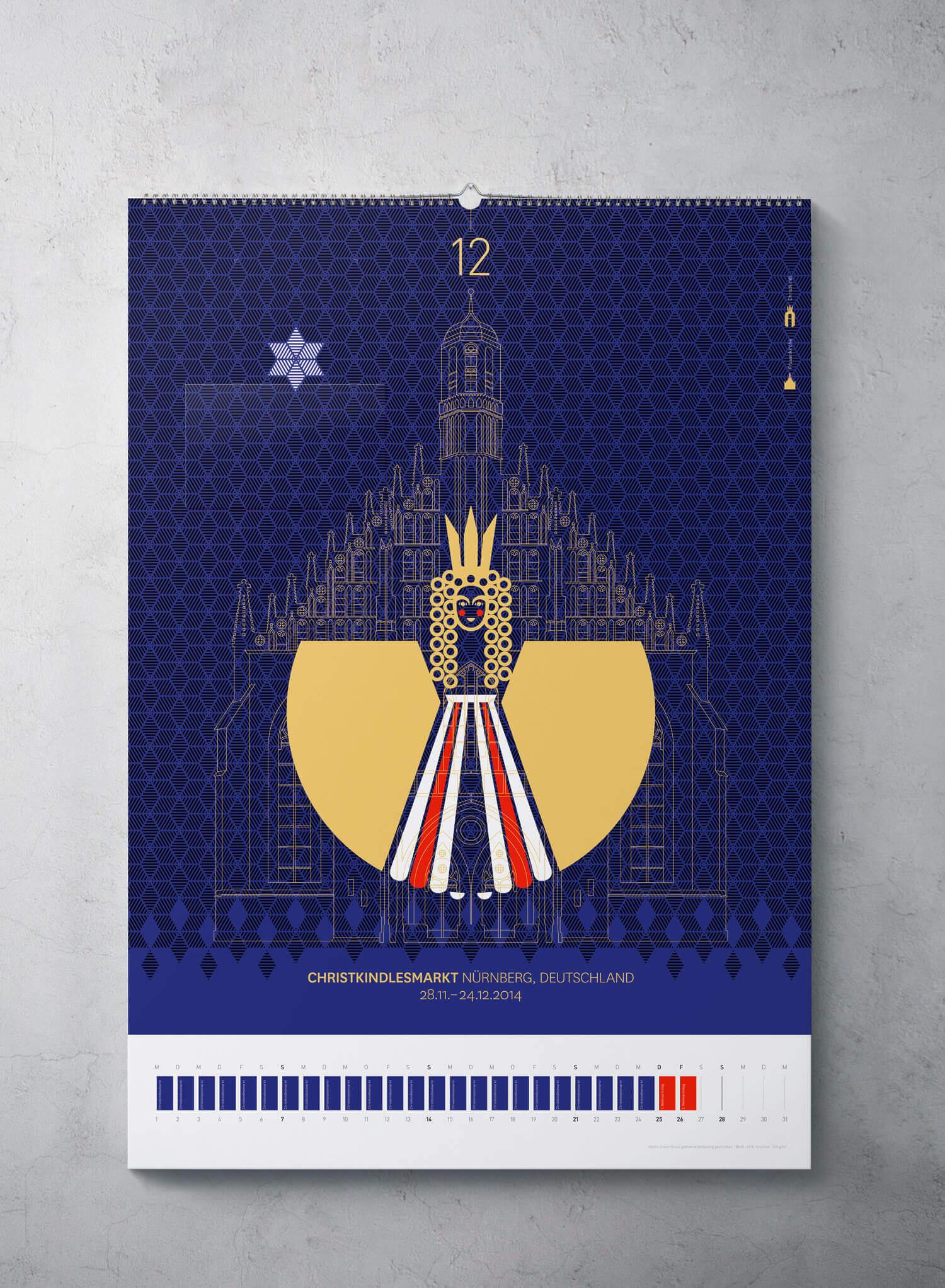 cyclos antalis wandkalender