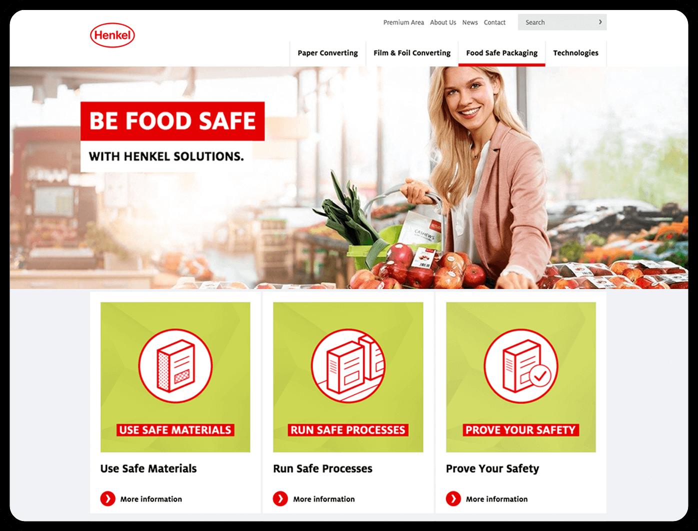 cyclos henkel website zielgruppen marketing food werbeagentur marketingkonzept