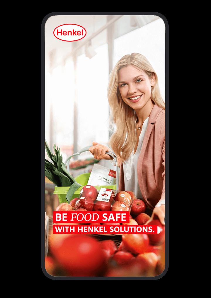 cyclos henkel website mobil statisch food-safe zielgruppen marketing food werbeagentur marketingkonzept