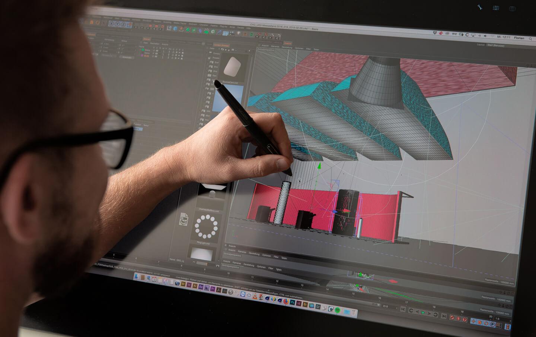cyclos film rendering 3d animation autocad