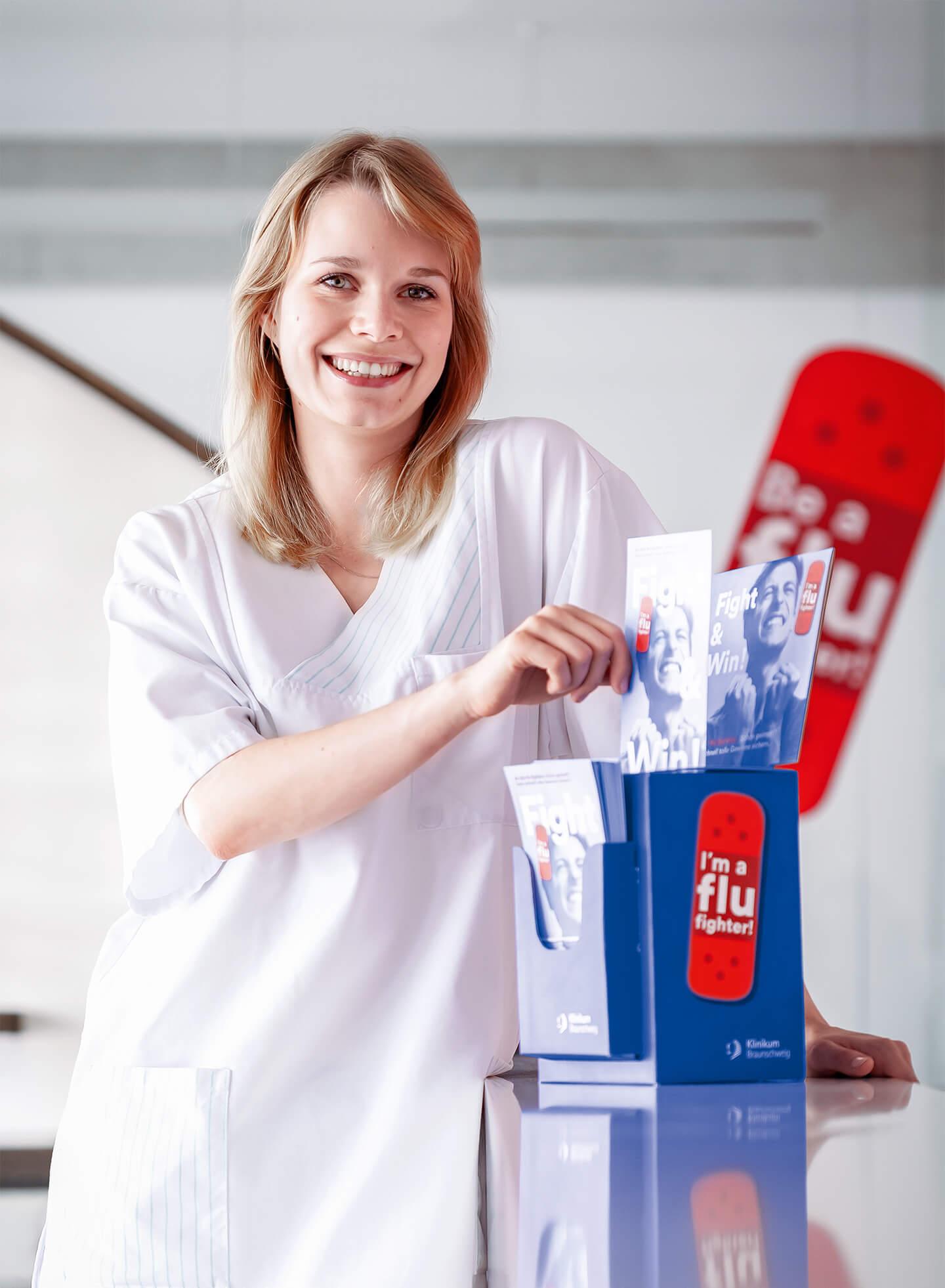 cyclos klinikum braunschweig kampagne flu fighter gewinnspiel