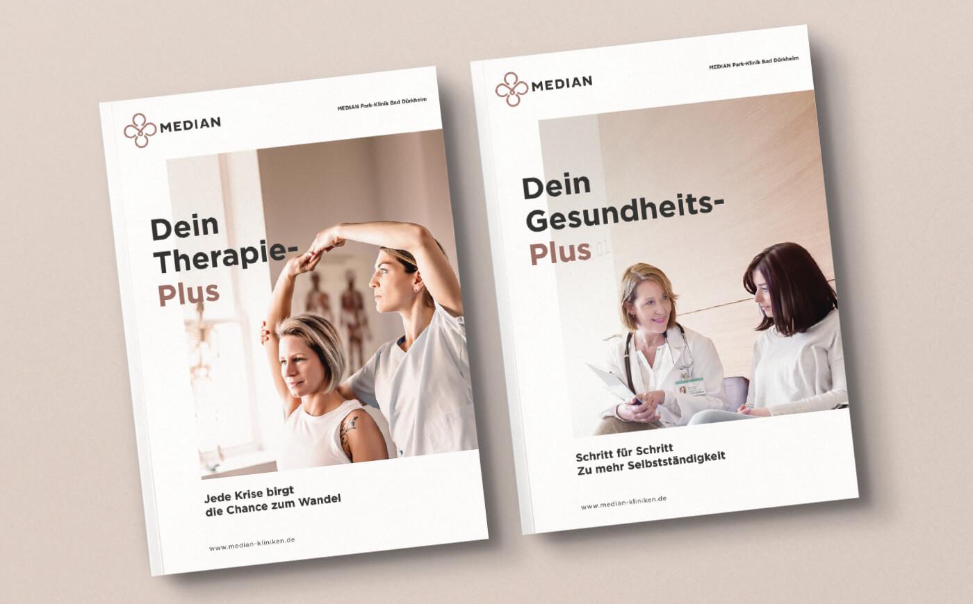 cyclos median krankenhaus klinik broschuere geschaeftsbericht marketing klinikum